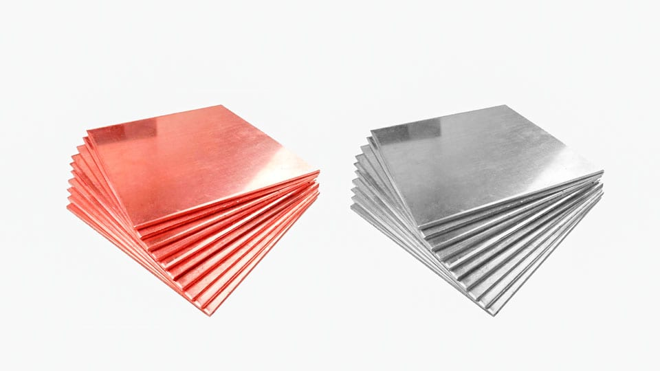 aluminum copper sheets